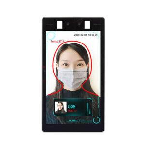 cámara termográfica de reconocimiento facial